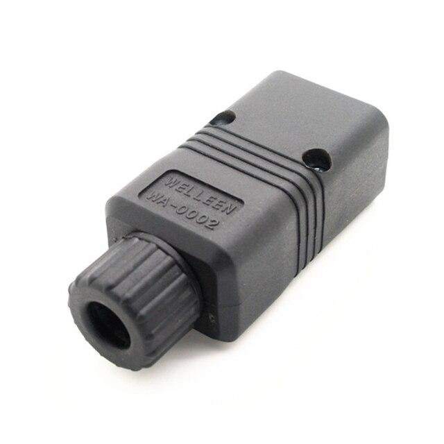 High Speed IEC 320 C20 Male AC Connector Power Plug 15A 250V power plug