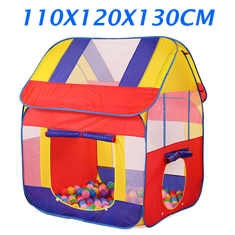 Ultralarge Foldable Kids Tent House Children Pop Up Play Tent Baby Kids Indoor Outdoor Toys Tent Beach Tent Game Playhouse ZP42