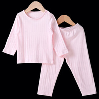 Top Quality Kids Autumn Pullovers Pajama Sets Toddler Boys Girls Dobby Sleepwears Children S Jumpers Pants