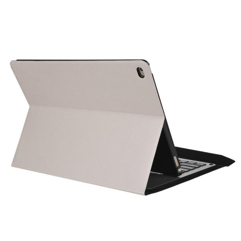 For iPad Pro 12.9'' Ultra Aluminum Bluetooth Keyboard with PU Leather Case Cover tablet protective case wireless keyboard A30 ultra thin slim stand litchi grain pu leather skin case with keyboard station cover for lenovo ideapad miix 320 10 1 tablet pc