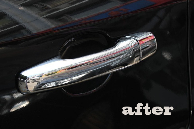 Chrome  Key Hole Door Handle Covers Fit For Ford Edge Pcs Per Set In Chromium Styling From Automobiles Motorcycles On Aliexpress Com Alibaba
