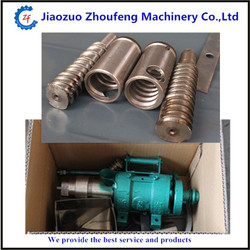 Commercial popcorn equipment rice and corn puffed bulking extruder machine with 7 moulds ZF