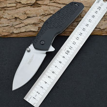 Survival Knife 7CR13MOV Blade 58HRC Hardness Kershaw Pocket Folding Knifes Hunting Tactical Knives Camping Outdoor EDC Tools r29