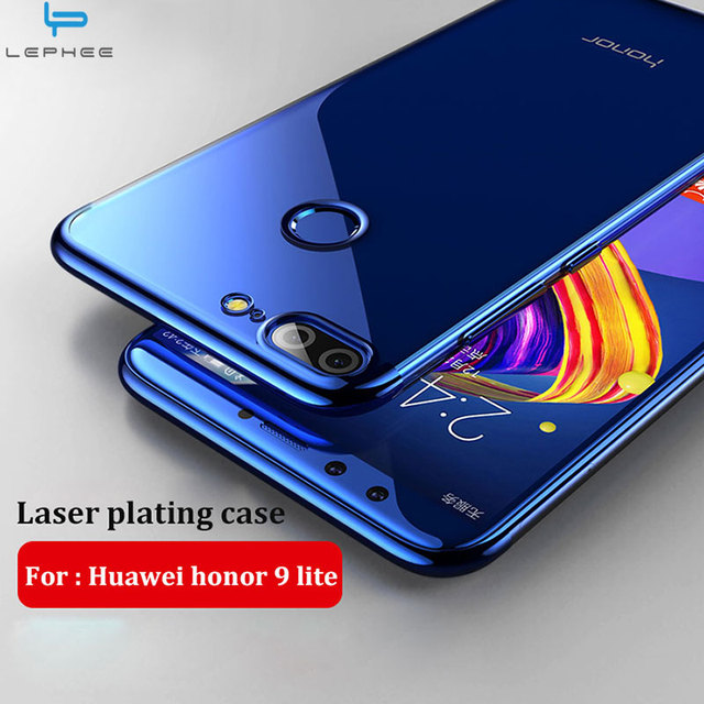 competitive price e319e 70c35 US $1.98 10% OFF|LEPHEE For honor 9 10 lite Case For Huawei P20 Lite P20  Pro Case Cover Soft TPU Laser Plating Crystal Shockproof Phone Cases -in ...