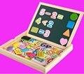 Детские развивающие игрушки для раннего образования многоцелевой деревянный детский цифровой форме доски для рисования