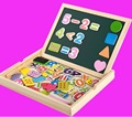 Children 's educational toys for early education multi - purpose wooden children' s digital shape drawing board