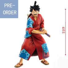 Presale June Original Banpresto One Piece Figure Japanese Style Monkey D. Ruffy Figures Model Dolls Brinquedos