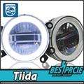 UNION Car Styling LED Fog Lamp for Nissan Tiida DRL2008-2015 LED Daytime Running Light Fog Light Parking Signal Accessories