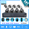 8 Ch Outdoor Waterproof Security Camera System Cctv 8CH 960h DVR NVR Kit DIY Video Surveillance