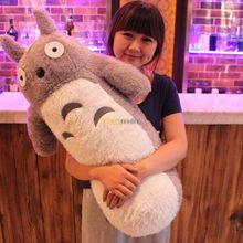 Cute Lovely 100cm Big Giant Totoro Pillow Cushion Soft Cartoon Anime Totoro Plush Toy for Birthday Gift