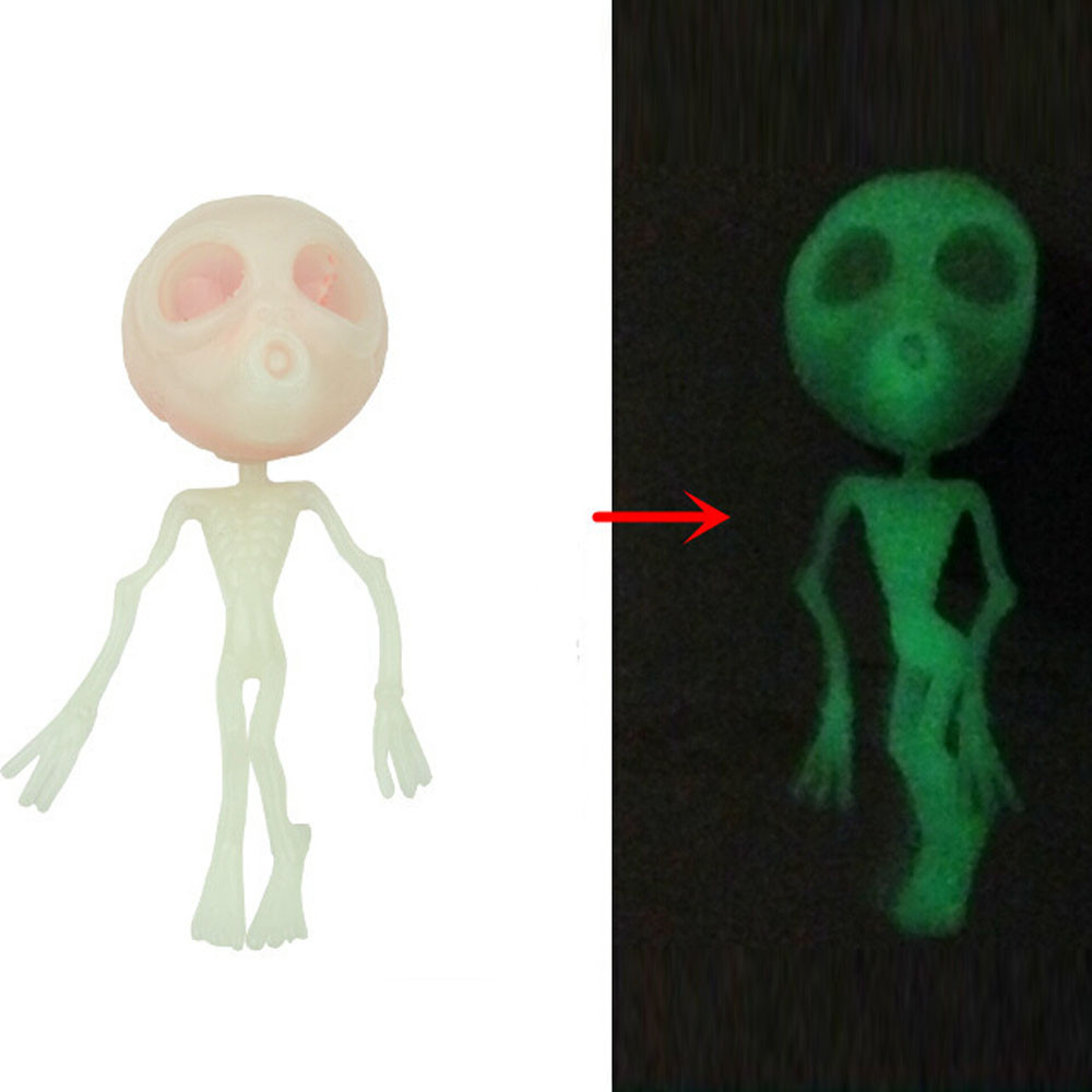 MUQGEW Stress Relieve Gift Squeeze Luminous Alien Soft Super Slow Rising Cure Toy Decor Funny toys Stres Giderici Q06