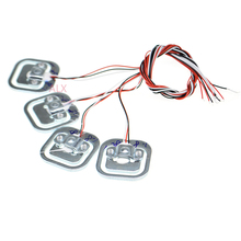 4 adet 50kg vücut yük cep tartı sensörü direnç suşu yarım köprü toplam ağırlık ölçekler sensörleri basınç ölçümü 34x 34mm