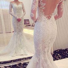 Changjie Wedding Dress 2019 Long Sleeves Court Train