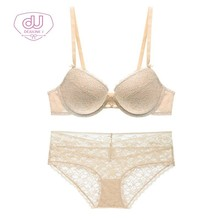 Summer New lingerie Pattern Comfortable Thin Cup Section Maam Underwear Deep V Sexy Bras
