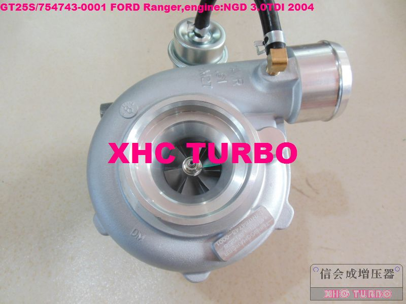 NOVO GT25S / 754743-0001 79526 Turbo turbopunjač za FORD Ranger NGD - Auto dijelovi
