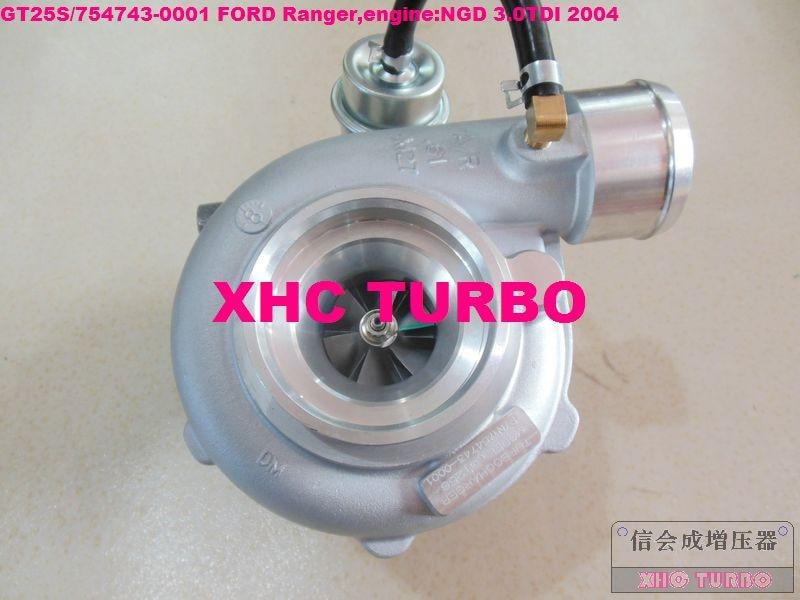 NEW GT25S / 754743-0001 79526 Turbo Turbocharger untuk FORD Ranger - Suku cadang mobil - Foto 1