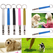 Adjustable Pet Dogs Whistle Anti Bark Ultrasonic Sound Dogs Training Tool