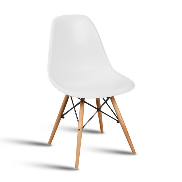 The Modern Popular Plastic Chair. Leisure Dining Chair. Composition Of  Synthetic Resin And Solid