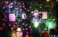 EMS Free Persian Grass Perfect Plant Wall 10pcs Lot Wedding Flower Wall Backdrop Artificial Grass Wall