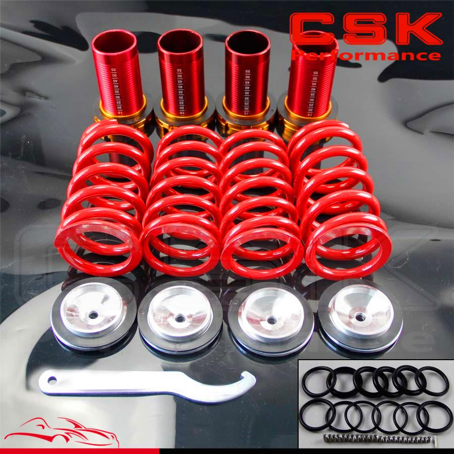 Aluminum Scaled Lowering Suspension Coilover Coil Springs For Honda Civic 88 00-in Fuel Supply & Treatment from Automobiles & Motorcycles    2
