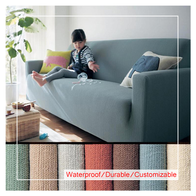 Simple Modern Solid Stretch Hand Slipcover Sofa Cover Full Cover All  Inclusive Custom Solid Support Full