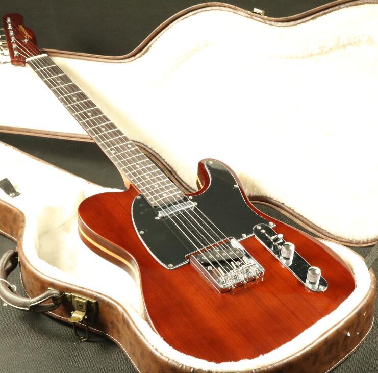 buy custom shop tl electric guitar ash maple body brown finish strings thru. Black Bedroom Furniture Sets. Home Design Ideas