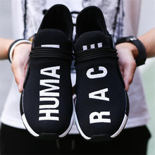 2018 wheresroad Human Race Yellow Casual Shoes Men's Comfortable Fashion Sneakers Light Summer Spring Man Ultra Boosts size39-47(China)