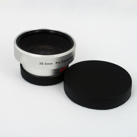 BON CREATION High Quality Wide Angle Conversion Lens 30.5mm 0.45x for Camcorders 30.5 0.45 Silver + Gift lens bag Lahore