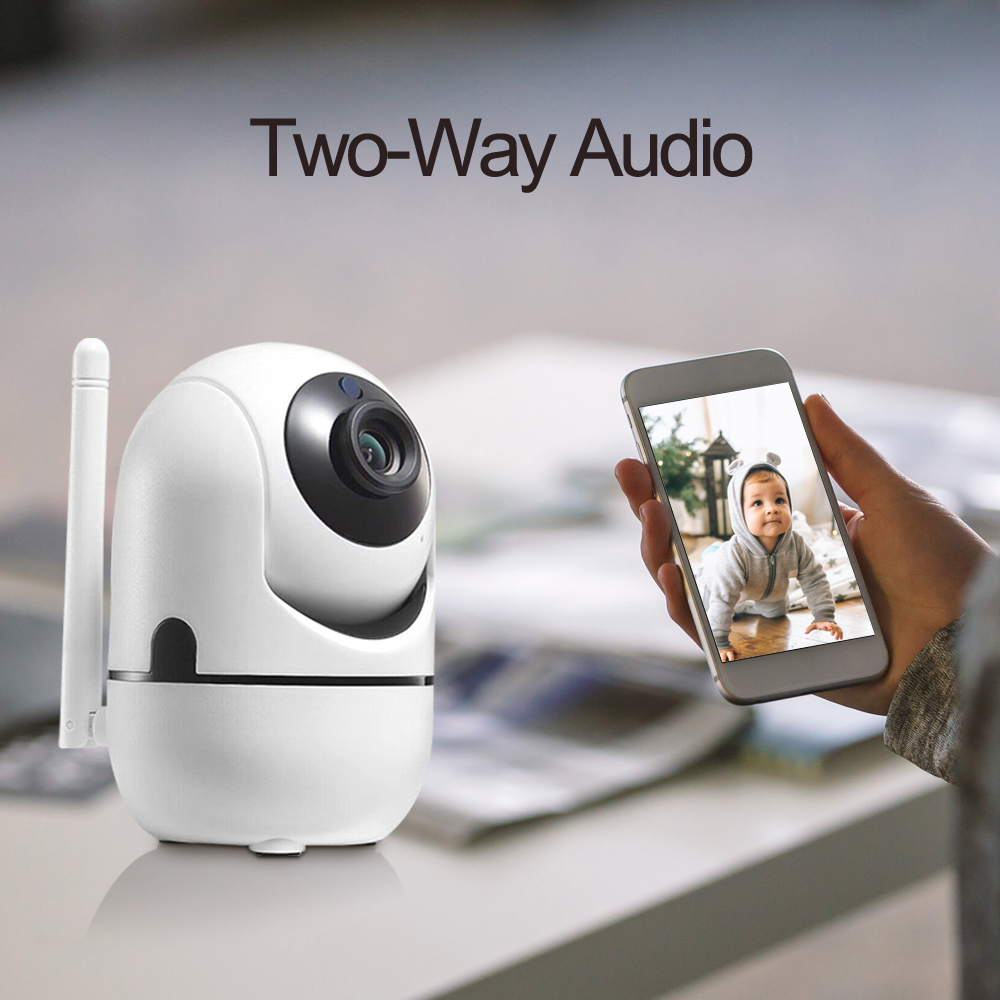Image 5 - 2MP Surveillance CCTV Camera Indoor  wireless security  for home Two way audio  TCP/IP/ONVIF motion sensor mini wifi camera-in Surveillance Cameras from Security & Protection