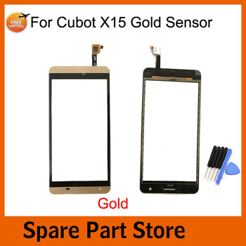 Angcoucoux 5pcs For Cubot X15 4G 5.5 Touch Screen Replacement Front Glass Lens Sensor Digitizer Repair Parts+free tools