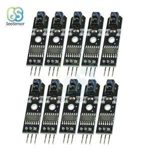 Image 1 - 10 個の Dc 5V IR 赤外線ライントラッカーセンサートラックフォロワーセンサー TCRT5000 障害物回避 Arduino の Avr Arm 用 PIC