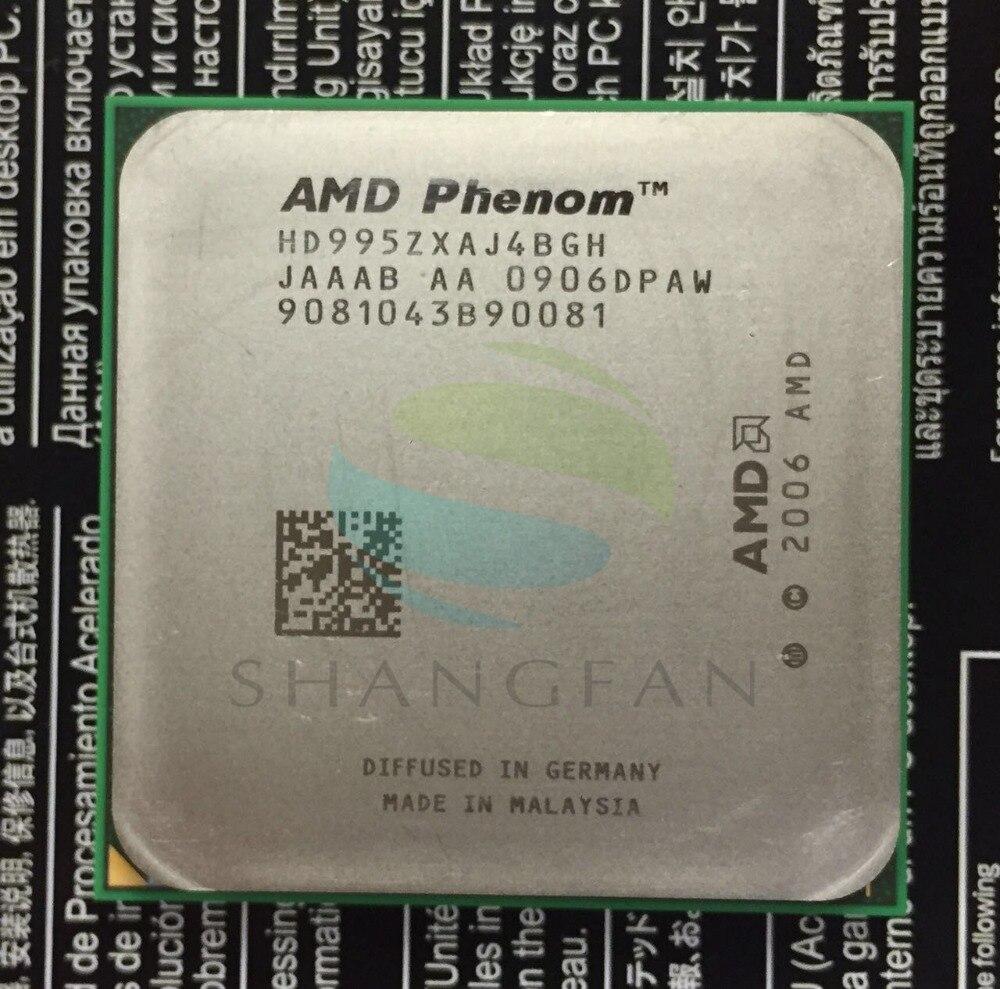 AMD Phenom X4 9950 Quad-Core 2,6 GHz CPU HD995ZXAJ4BGH hembra AM2 +/940pin