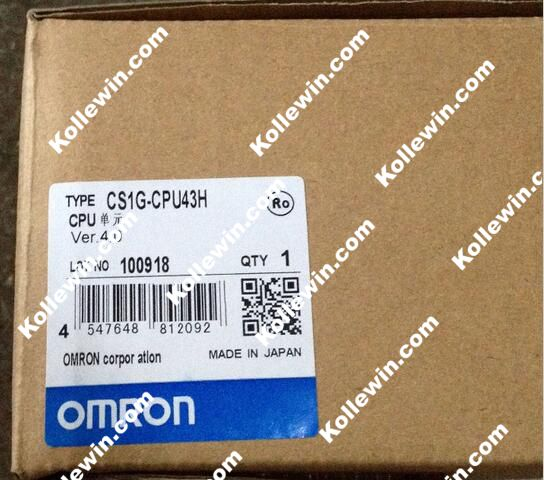 CS1G CPU43H PLC Programmable Logic Controller Module CS1GCPU43H NEW IN BOX