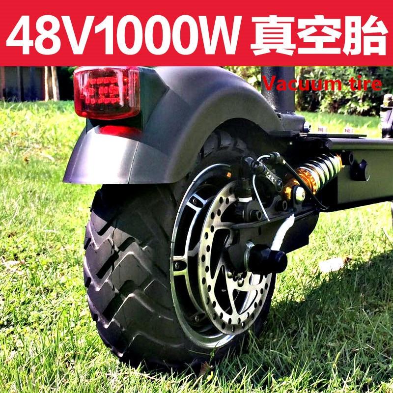 Scooter Eléctrico, adultos 11 pulgadas plegable amortiguador disco, explosión vacío sustituto bicicleta