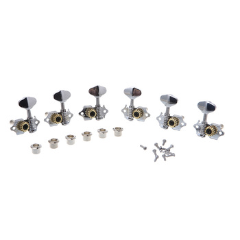 3R 3L For Grover Style Guitar String Tuner Open Gear Tuning Peg Machine Heads image