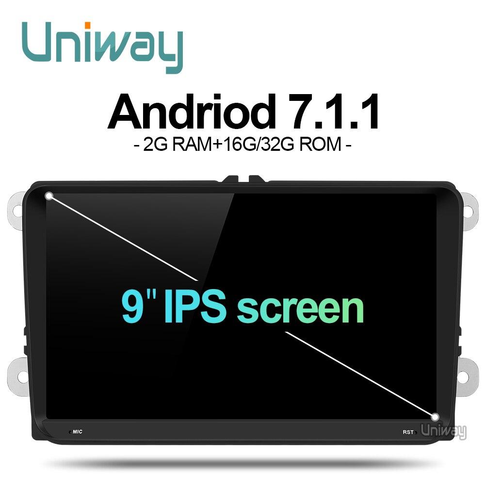 Navitop 2 Din Android 6 0 Car Dvd For Vw Passat B6 Golf 4 5 Tiguan