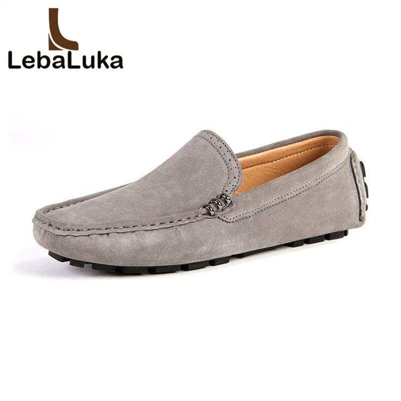 Lebaluka 6 Farbe Männer Casual Schuhe Handmade Non Slip Faul Müßiggänger Schuhe Zifferblatt Y Concise Business Schuhe Männlichen Schuhe Größe 38-44 Herrenschuhe