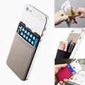 Unisex Fashionable Lycra Mini Fabric  Mobile Phone Credit ID Card Holder Pocket Wallet