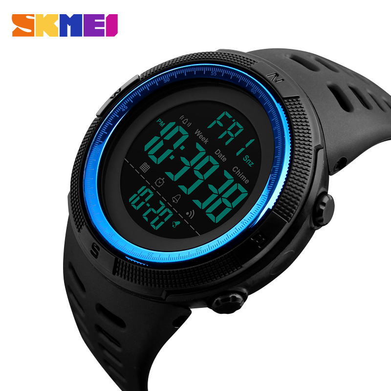 SKMEI Brand Men's Fashion Sports Watches Chrono Countdown Men Waterproof Digital Watch Man military Clock Relogio Masculino skmei brand men s fashion sport watches chrono countdown men waterproof digital watch man military clock relogio masculino new