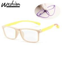 Анти-синий светильник, очки, детские солнцезащитные очки, детский синий светильник, блокирующие очки для девочек и мальчиков, прозрачные очки для чтения
