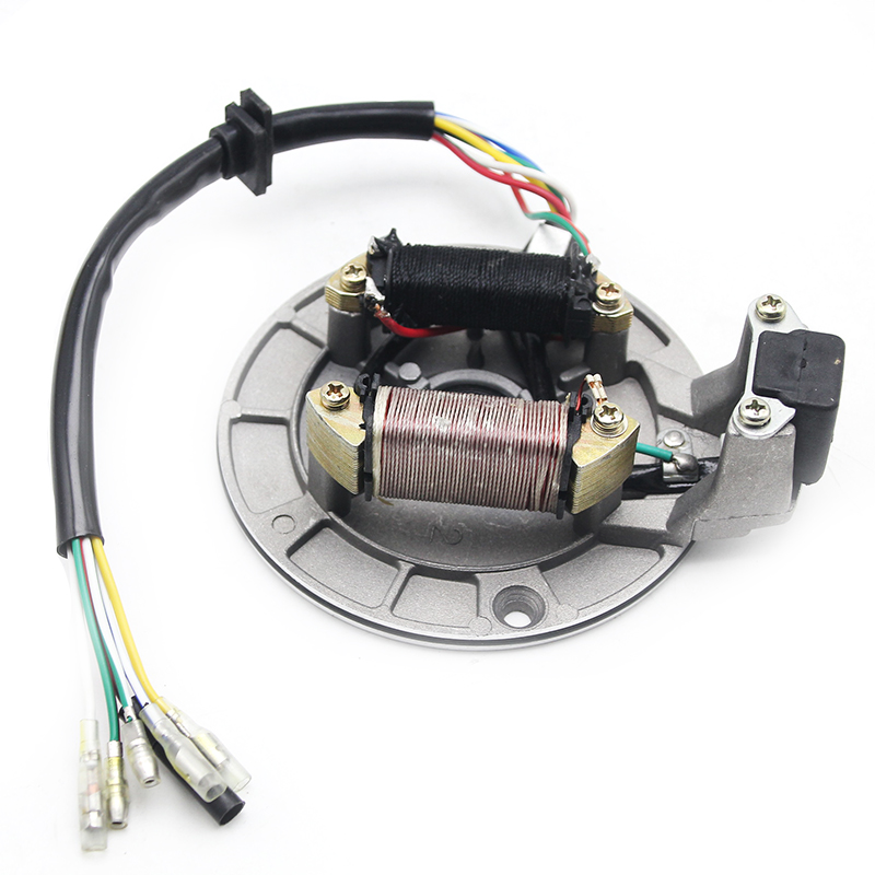 Stator Ignition Coil JH70 Stator Plate Pickup Magneto Ignition Coil Rotor for Pit//Dirt Bike 70cc 90cc 110cc 125cc