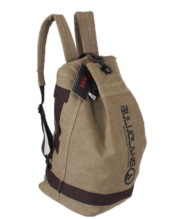 ETN BAG hot sale good quality men canvas backpack male fashion bag travel backpack man casual travel bag student school bag