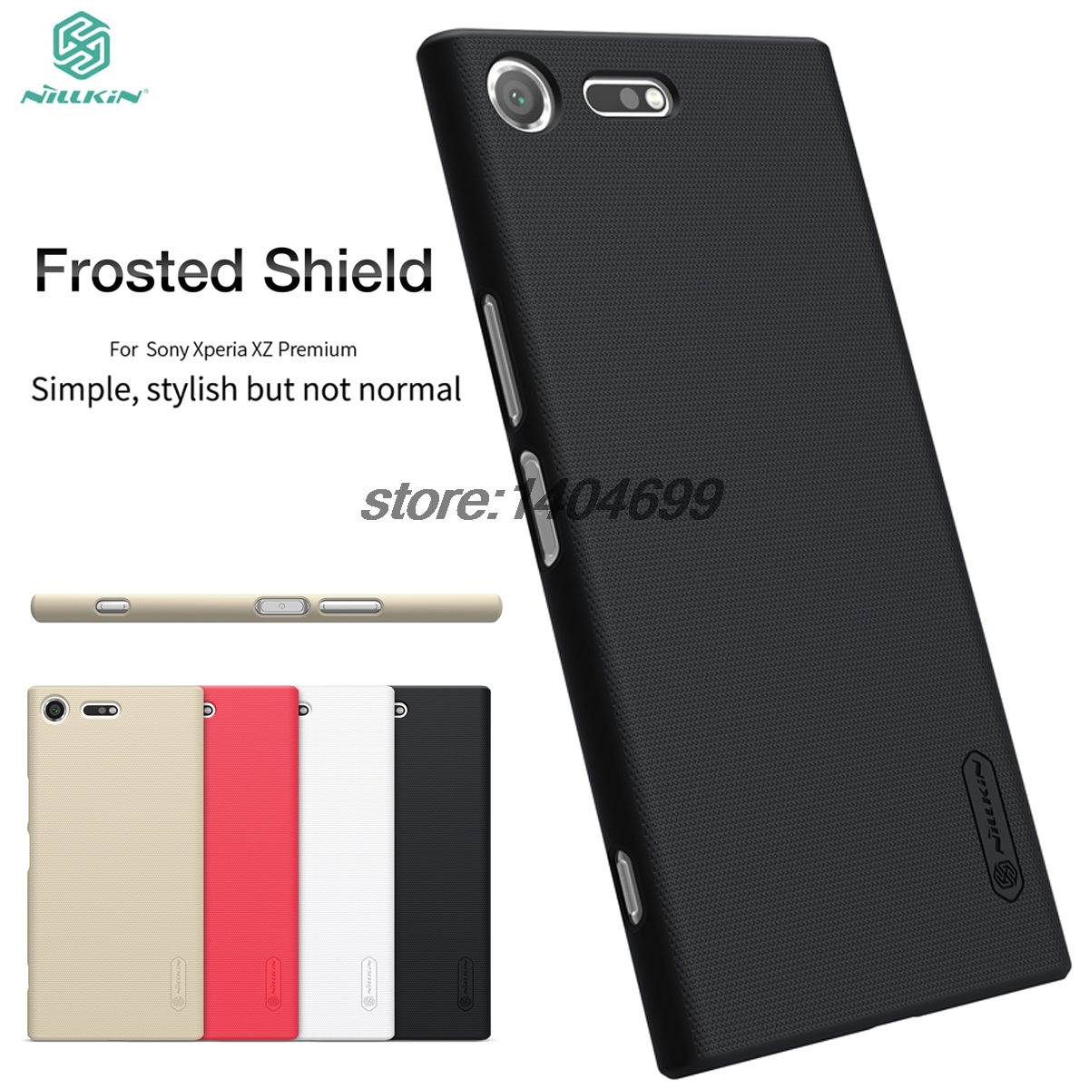 sFor Sony Xperia XZ Premium Case Nillkin Frosted Shield Matte Back Cover For Sony XZ Premium 5.5 Phone Gift Screen Protector ...