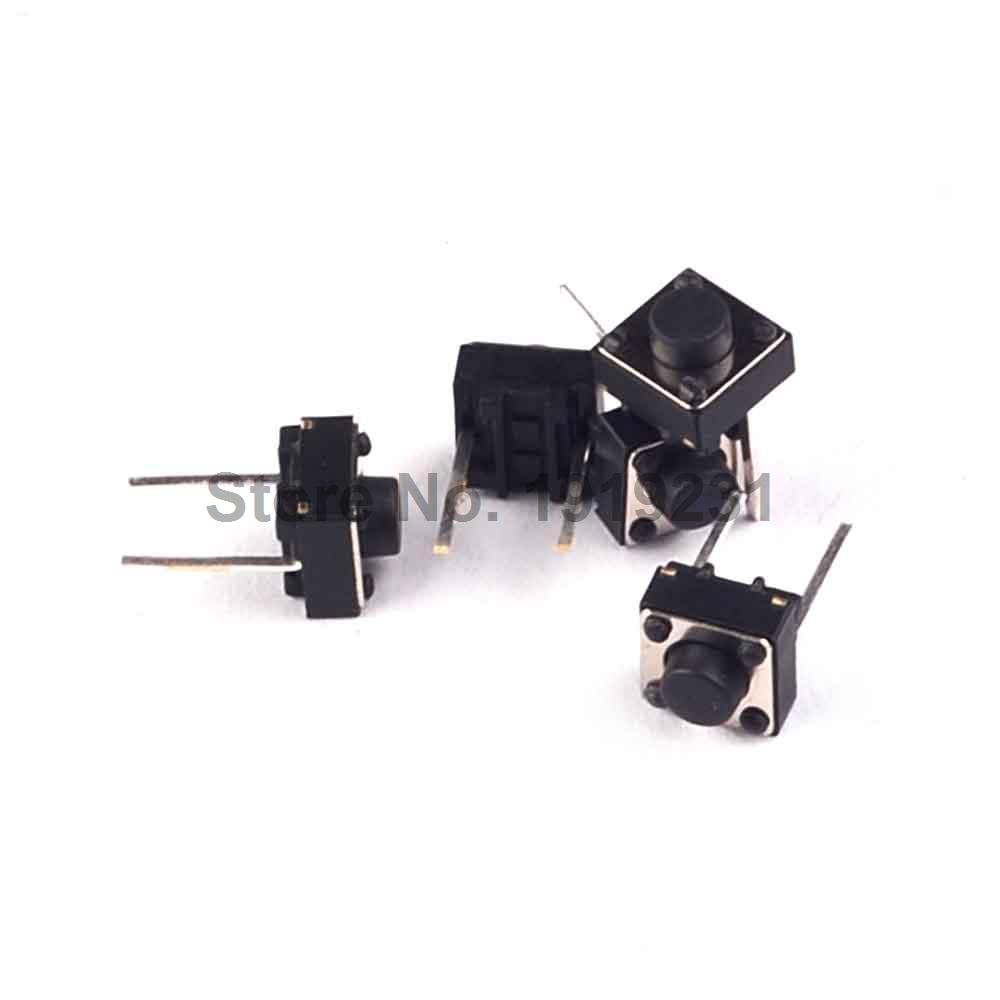 500PCS 6x6x5mm 6*6*5mm Tact Switch Momentary Tactile Tact Push ...