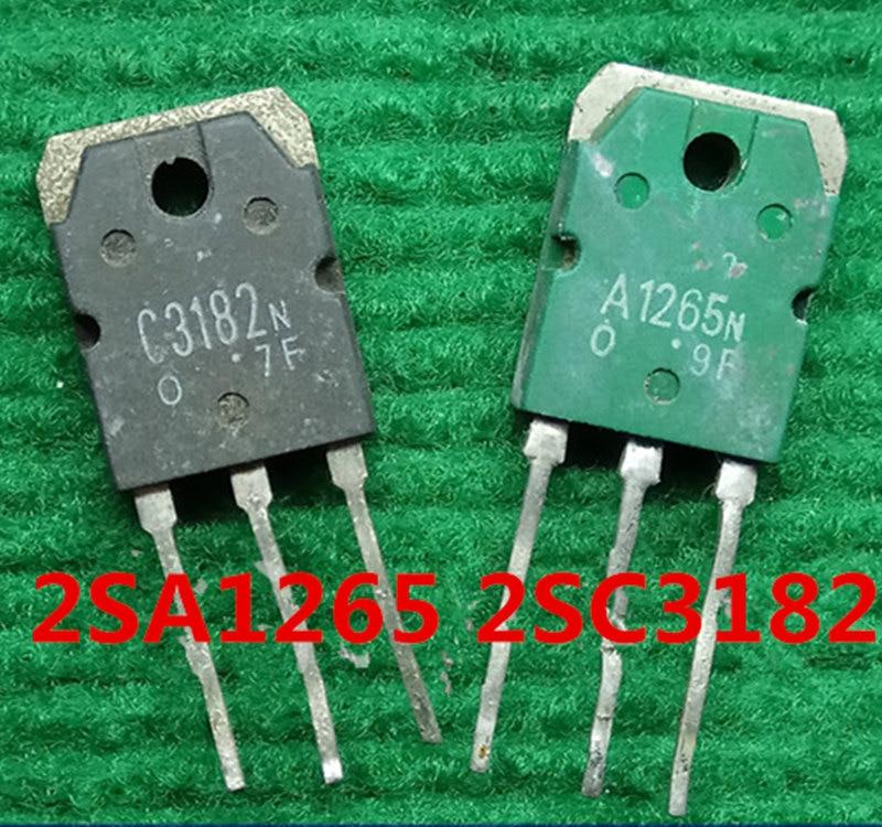 Xzhongx 10ocs 2SA1265 2SC3182 10PCS A1265  C3182