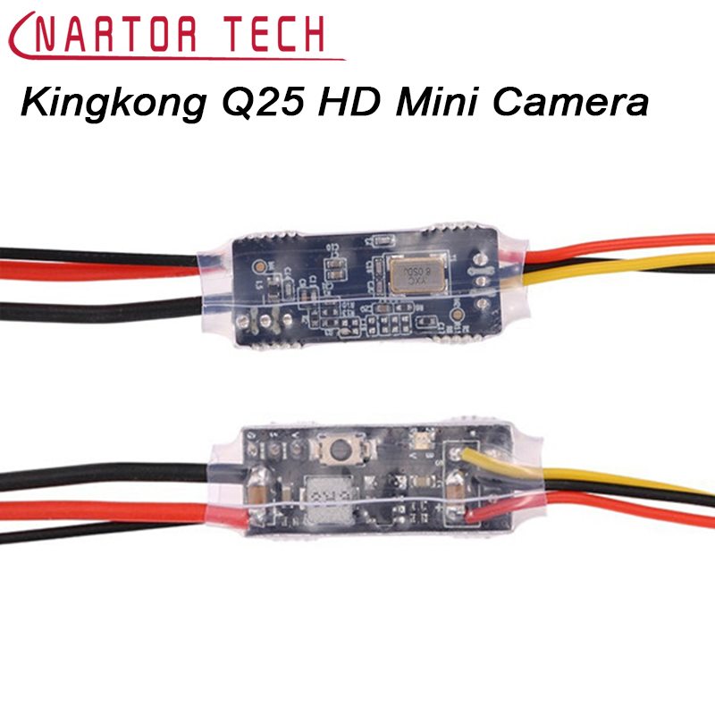 DIY Kingkong Spare Part Q25 5.8G 16CH 25mw VTX Degrees HD Mini Camera For RC Multicopter