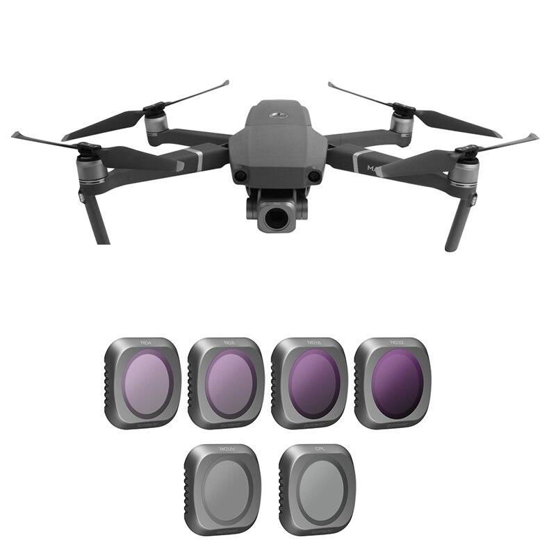 Filtre d'objectif de caméra SUNNYLIFE Mavic 2 Pro ND4/8/16/32 filtres MAVIC 2 PRO UV filtre CPL pour DJI Mavic 2 Pro accessoires de drone