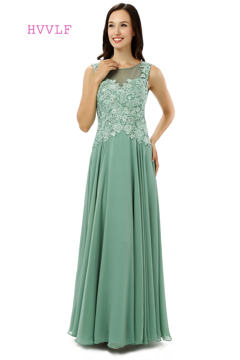 Sage Green Mother of the Bride Dresses