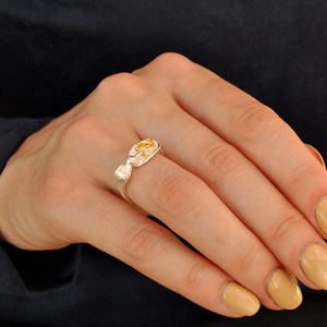 Image 4 - לוטוס כיף אמיתי 925 סטרלינג כסף ציפור טבעת Creative תכשיטים עיצוב מתכוונן Hummingbird טבעות לנשים מתנה לחג המולד
