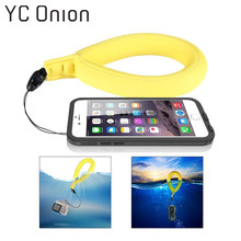 Phone Camera Floating Wrist Strap for Gopro Go pro Hero SJCAM EKEN Xiaomi Yi Action Camera Swimming Diving Float Wrist Band(China)